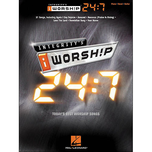 Integrity Music Integrity's iworship 24:7 arranged for piano, vocal, and guitar (P/V/G)-thumbnail