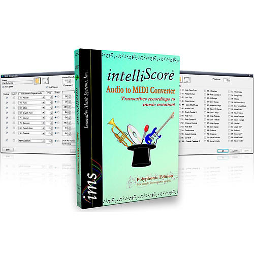 Innovative Music Systems IntelliScore Polyphonic Audio to MIDI Converter Software Download