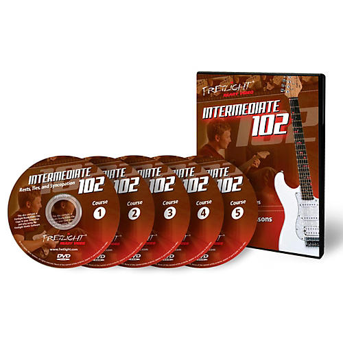 Fretlight Intermediate 102 Course - Video Lessons - Intermediate 102 Course Set (5 Disc)