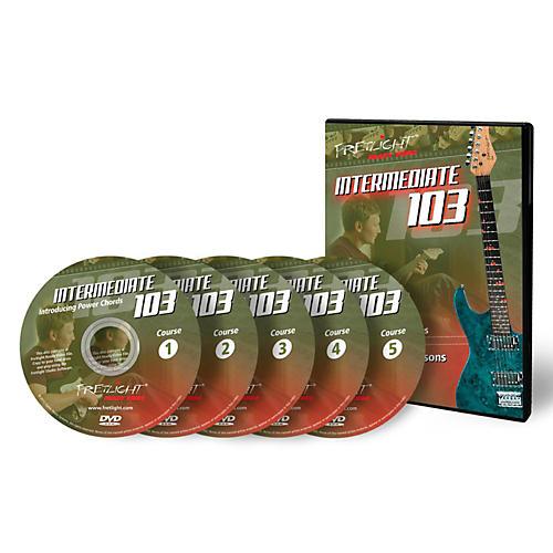 Fretlight Intermediate 103 Course - Video Lessons - Intermediate 103 Course Set (5 Disc)-thumbnail