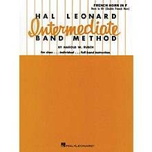 Hal Leonard Intermediate Band Method French Horn In F