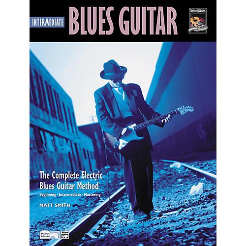 Alfred Intermediate Blues Guitar (Book/CD)