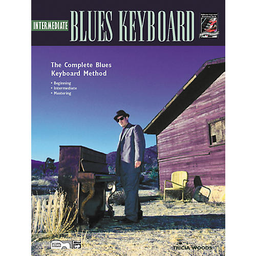 Alfred Intermediate Blues Keyboard (Book/CD)