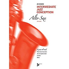ADVANCE MUSIC Intermediate Jazz Conception: Alto & Baritone Sax Book & CD Intermediate