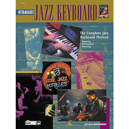 Alfred Intermediate Jazz Keyboard (Book/CD)