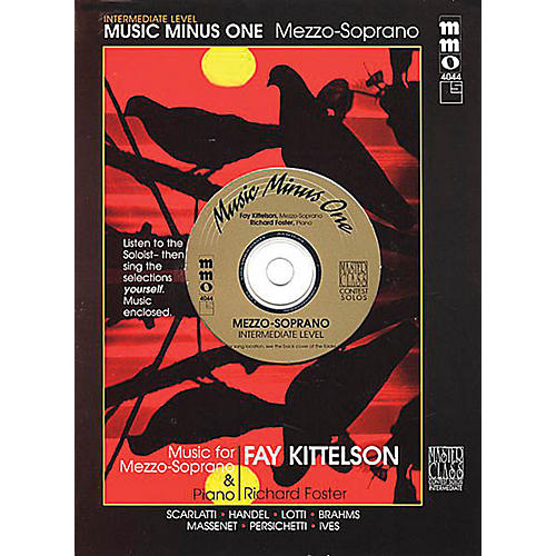 Music Minus One Intermediate Mezzo Soprano Solos Music Minus One Series Softcover with CD-thumbnail