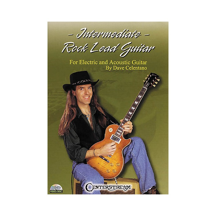 Centerstream Publishing Intermediate Rock Lead Guitar (DVD)