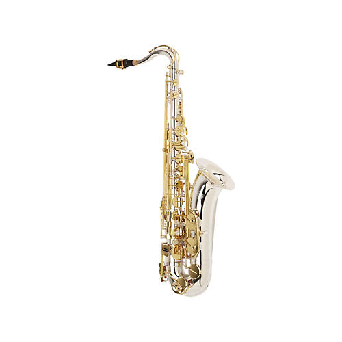 Jupiter Intermediate Tenor Saxophone Sterling Silver Neck, Silver Plated Body