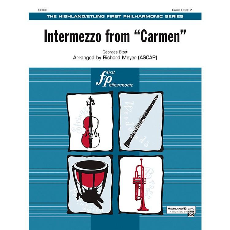 AlfredIntermezzo from Carmen String Orchestra Grade 2 Set