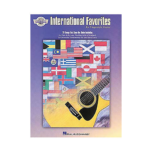 Hal Leonard International Favorites For Fingerstyle Guitar Book