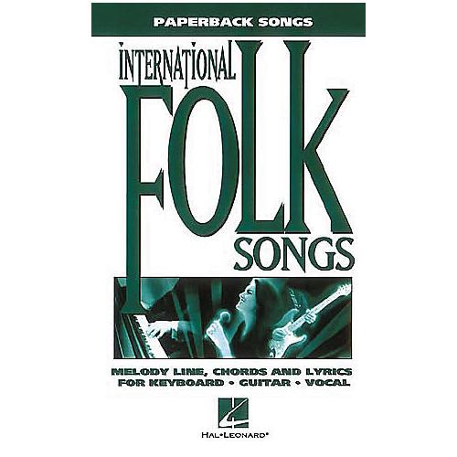 Hal Leonard International Folksongs Piano, Vocal, Guitar Book