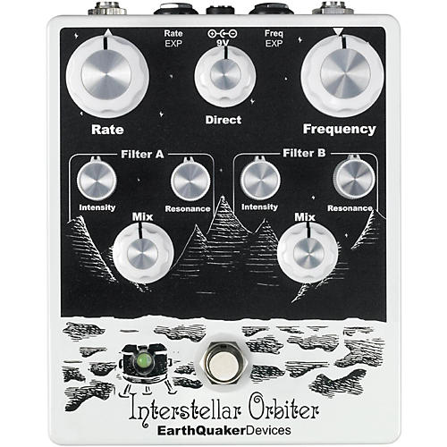 EarthQuaker Devices Interstellar Orbiter Dual Resonant Filter Guitar Pedal-thumbnail