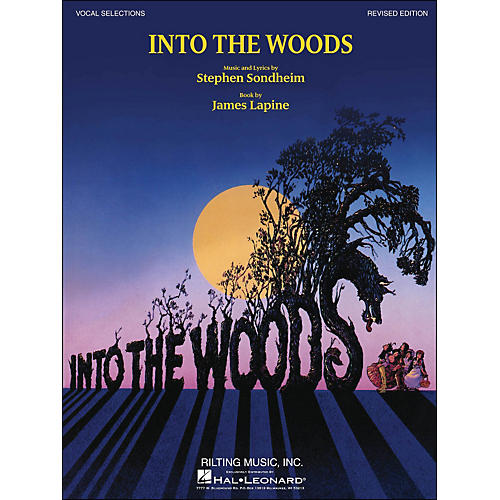 Hal Leonard Into The Woods Vocal Selections (Revised Edition) arranged for piano, vocal, and guitar (P/V/G)