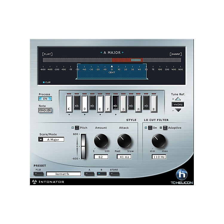 TC HeliconIntonator HS Pitch Correction Plug-in for PowerCore
