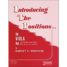 Hal Leonard Introducing The Positions for Viola Vol 1 Third And Half Positions