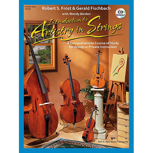 KJOS Introduction to Artistry in Strings - String Bass-thumbnail