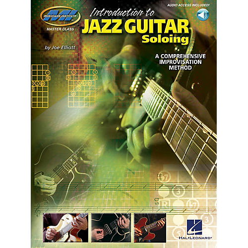 Musicians Institute Introduction to Jazz Guitar Soloing Musicians Institute Press Series Softcover with CD by Joe Elliott-thumbnail
