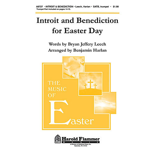 Shawnee Press Introit and Benediction for Easter Day SATB arranged by Benjamin Harlan