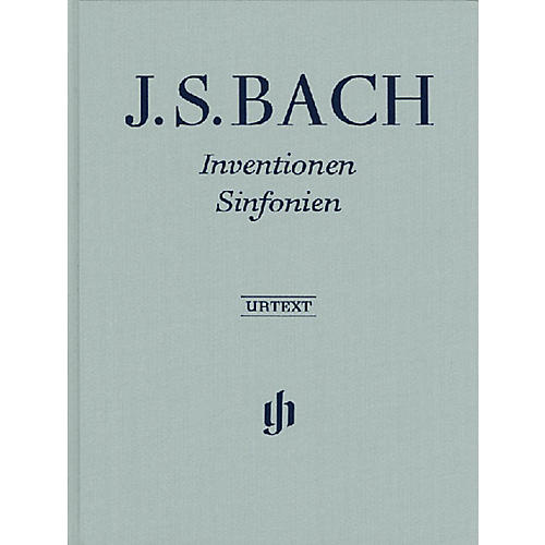 G. Henle Verlag Inventions and Sinfonias Henle Music Folios Series Hardcover