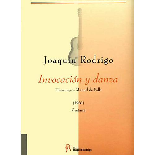 Schott Invocacion Y Danza (Solo Guitar) Schott Series Composed by Joaquin Rodrigo-thumbnail