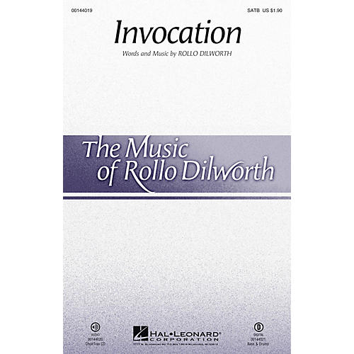 Hal Leonard Invocation CHOIRTRAX CD Composed by Rollo Dilworth-thumbnail