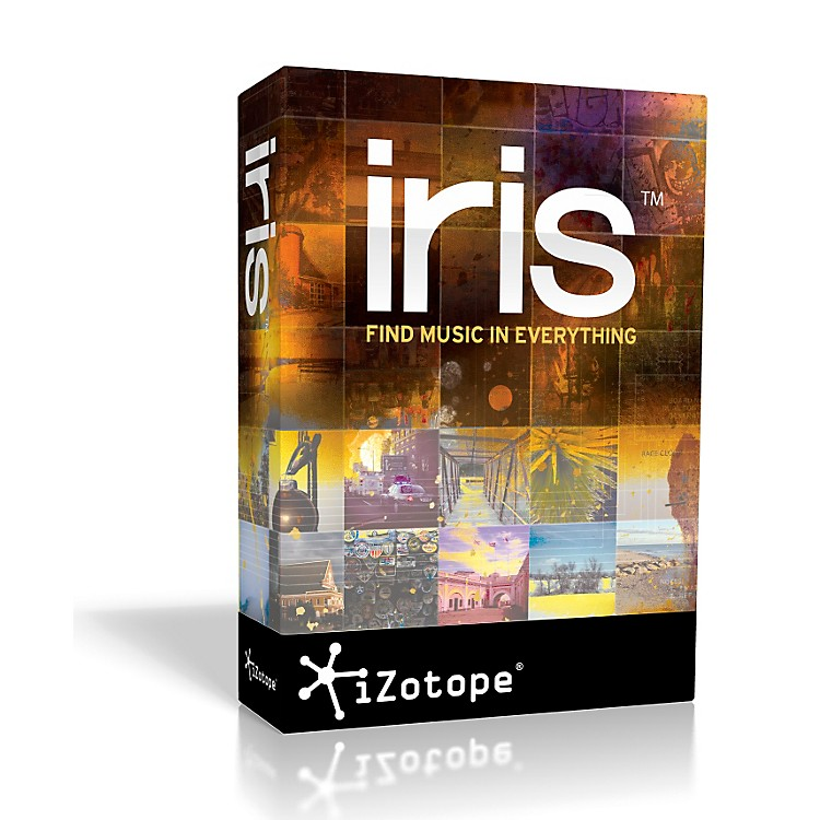 iZotope Iris Spectral Selection Synth