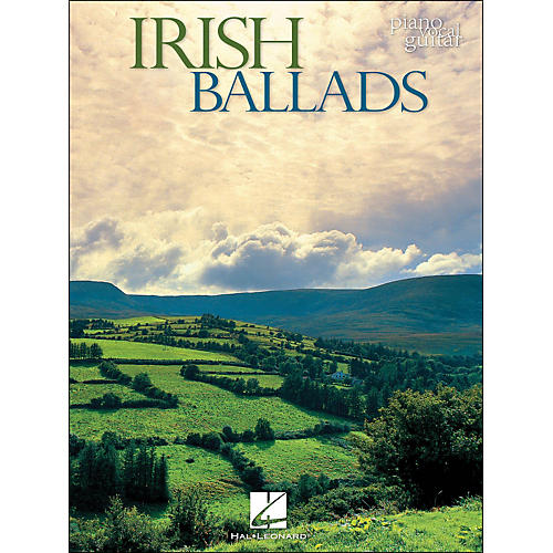 Hal Leonard Irish Ballads arranged for piano, vocal, and guitar (P/V/G)