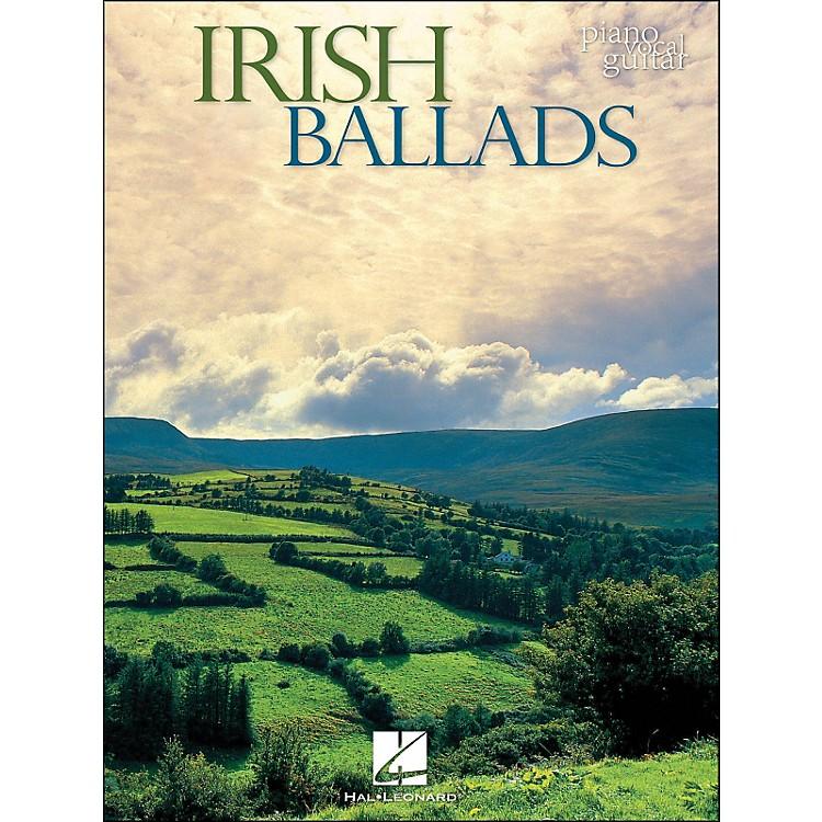 Hal LeonardIrish Ballads arranged for piano, vocal, and guitar (P/V/G)