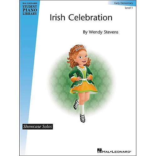 Hal Leonard Irish Celebration - Showcase Solos Early Elementary Level 1 Hal Leonard Student Piano Library