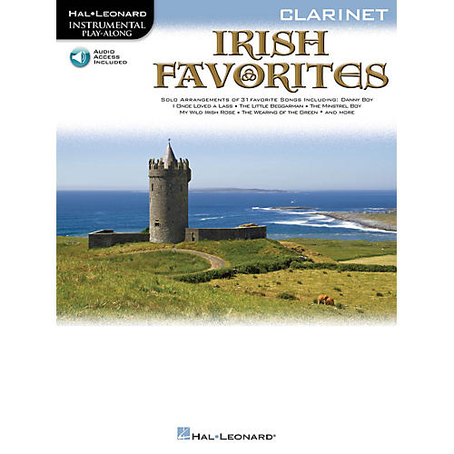 Hal Leonard Irish Favorites (Cello) Instrumental Play-Along Series Softcover with CD-thumbnail