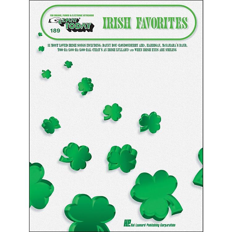 Hal LeonardIrish Favorites E-Z Play 189