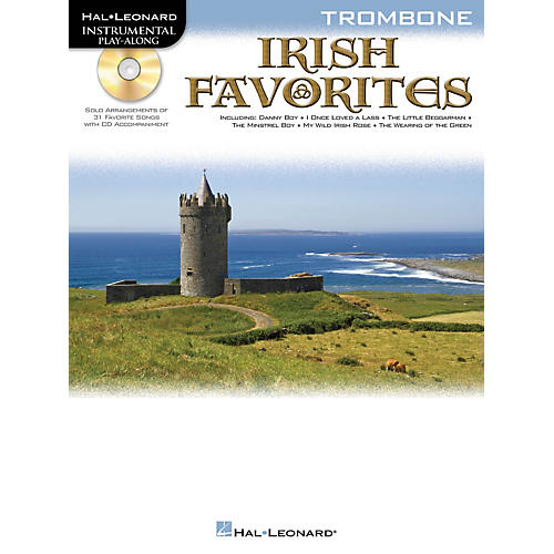 Hal Leonard Irish Favorites (Trombone) Instrumental Play-Along Series Softcover with CD-thumbnail