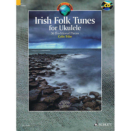 Schott Irish Folk Tunes for Ukulele (36 Traditional Pieces) Schott Series Softcover with CD-thumbnail