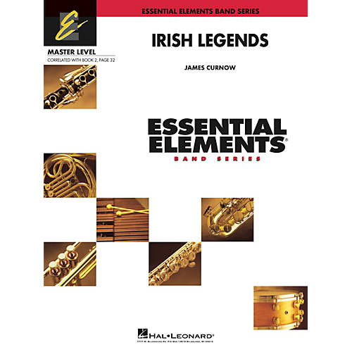 Hal Leonard Irish Legends Concert Band Level 2 Composed by James Curnow-thumbnail