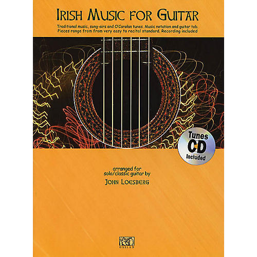 Music Sales Irish Music for Guitar Music Sales America Series Softcover with CD-thumbnail