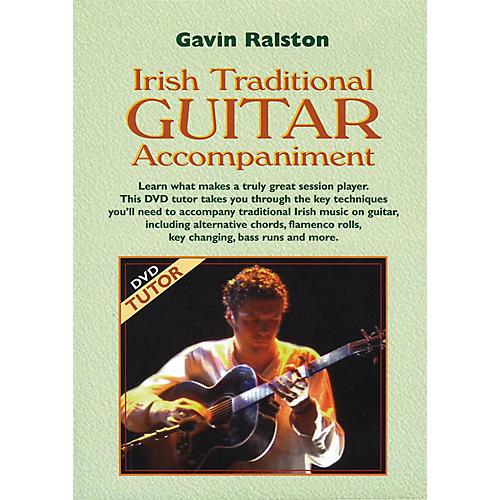 Waltons Irish Traditional Guitar Accompaniment Waltons Irish Music Dvd Series DVD Written by Gavin Ralston-thumbnail