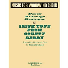 G. Schirmer Irish Tune Ww Choir Full Score Concert Band Composed by P Grainger