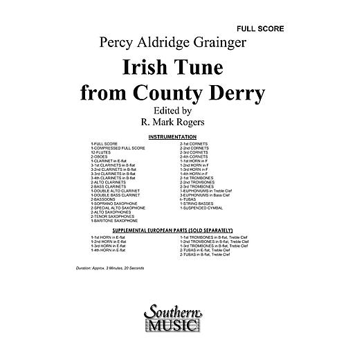 Southern Irish Tune from County Derry Concert Band Level 3 by Percy Aldridge Grainger Arranged by R. Mark Rogers