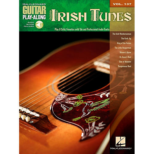 Hal Leonard Irish Tunes - Guitar Play-Along Volume 137 Book/CD