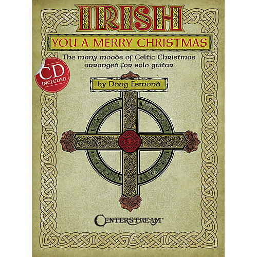 Centerstream Publishing Irish You a Merry Christmas Guitar Series Softcover with CD-thumbnail