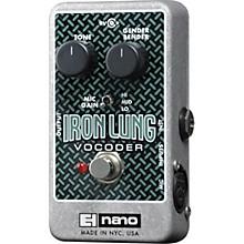 Electro-Harmonix Iron Lung Vocoder Pedal Level 1