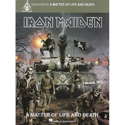 Hal Leonard Iron Maiden - A Matter of Life and Death Songbook-thumbnail