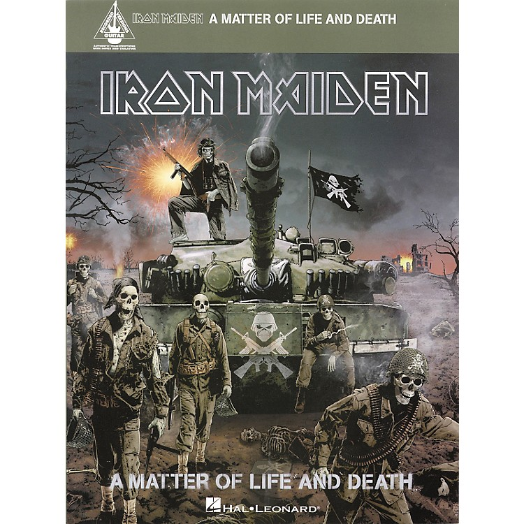 Hal Leonard Iron Maiden - A Matter of Life and Death Songbook