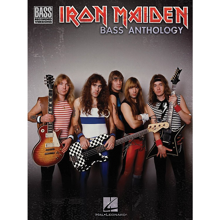 Hal Leonard Iron Maiden Bass Anthology (Tab Songbook)