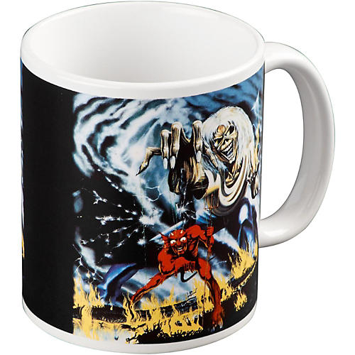 ROCK OFF Iron Maiden Number Of The Beast Mug