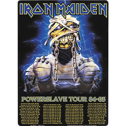 Gear One Iron Maiden Powerslave Tour 84-85 Sign