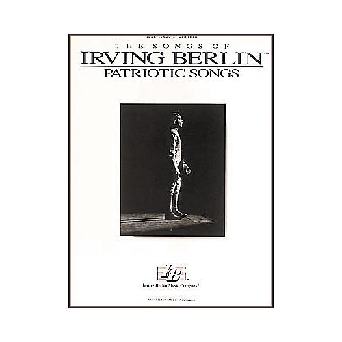 Hal Leonard Irving Berlin - Patriotic Songs Composer Collection Piano, Vocal, Guitar Songbook-thumbnail