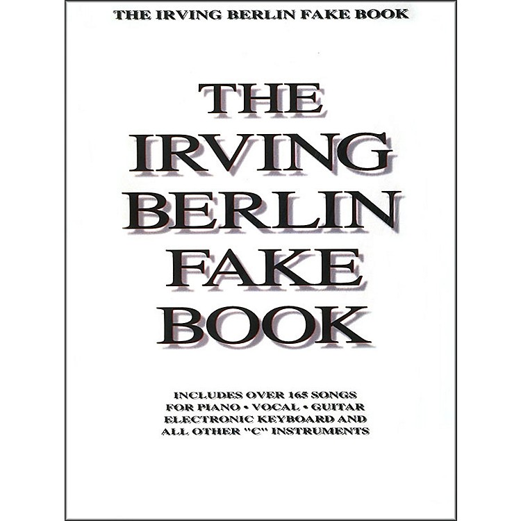 Hal Leonard Irving Berlin Fake Book