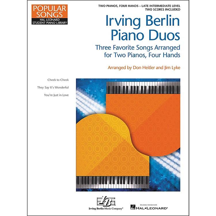 Hal LeonardIrving Berlin Piano Duos - Three Favorite Songs Arranged For 2 Pianos / 4 Hands
