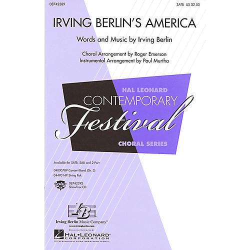 Hal Leonard Irving Berlin's America (Medley) SATB arranged by Roger Emerson-thumbnail
